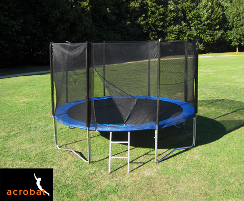 Acrobat 10ft trampoline package
