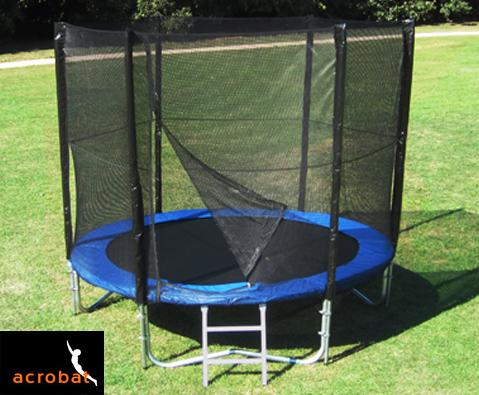 Acrobat Plus 8ft trampoline package