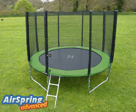 Airspring Advanced 10ft trampoline package