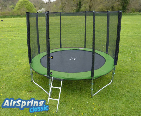 Airspring Classic 10ft trampoline package