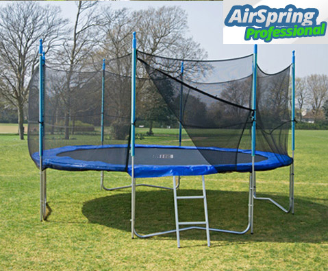 Airspring Professional 12ft trampoline package