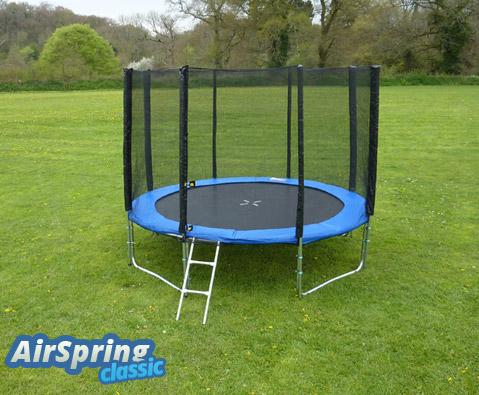 Airspring 8ft trampoline package