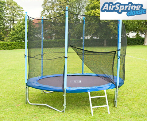 Airspring Classic 8ft trampoline package