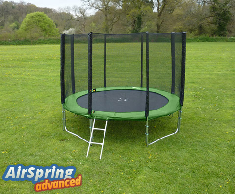 Airspring Advanced 8ft trampoline package