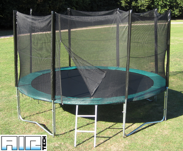 Airtech Gold 14ft trampoline package