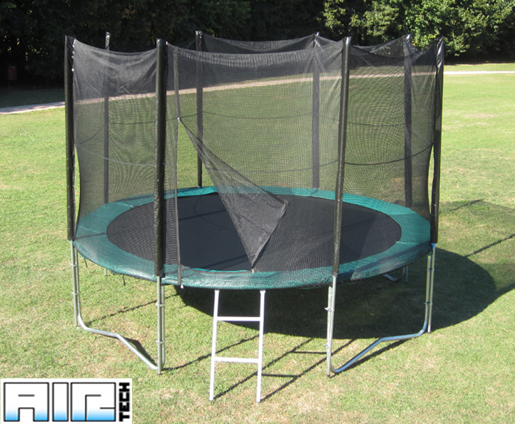 Airtech Silver 10ft trampoline package