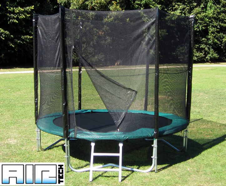 Airtech Silver 8ft trampoline package