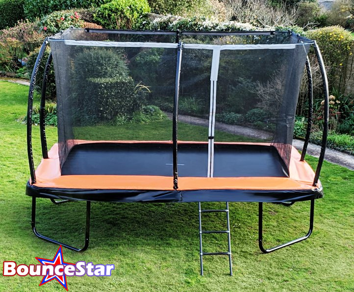 BounceStar 8x12ft trampoline package