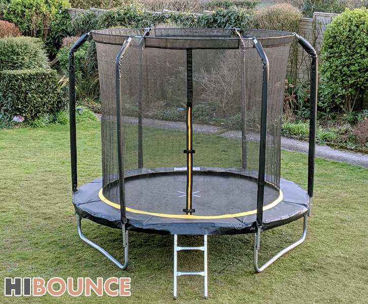Hi-Bounce 8ft trampoline package