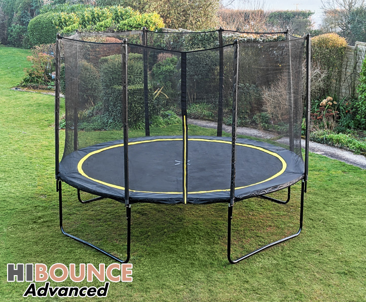 Hi-Bounce Advanced 12ft trampoline package