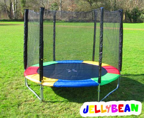 Jellybean 10ft trampoline package