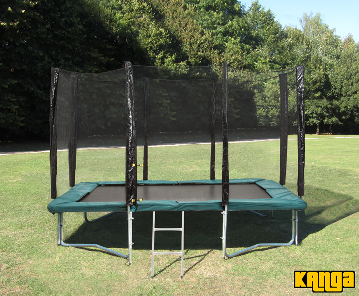 Kanga Green 7x10ft trampoline package