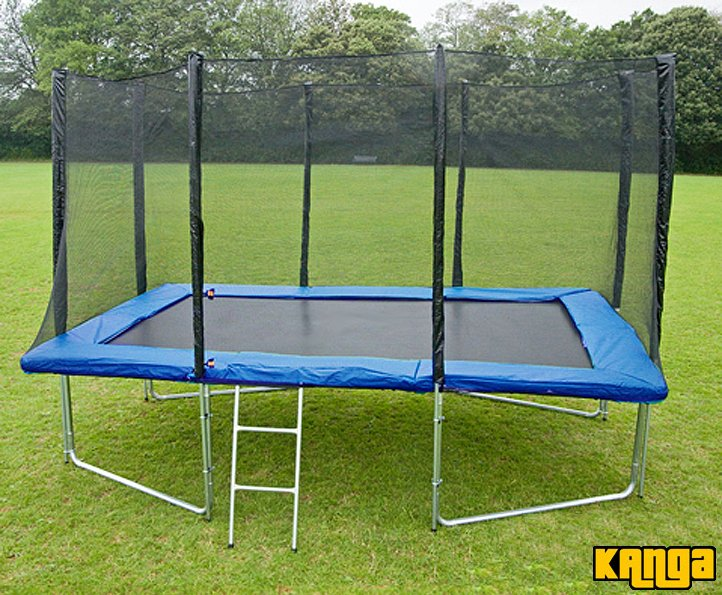 Kanga Blue 8x12ft trampoline package