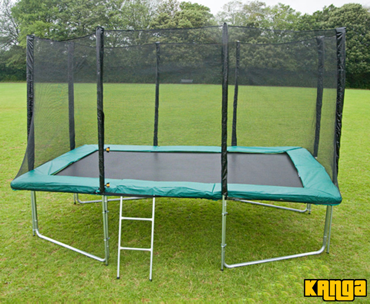 Trampolines Kanga Green 8x12ft trampoline package