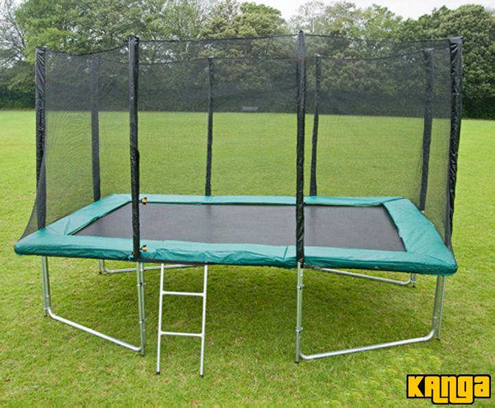 Trampolines Kanga Green 8x12ft trampoline package