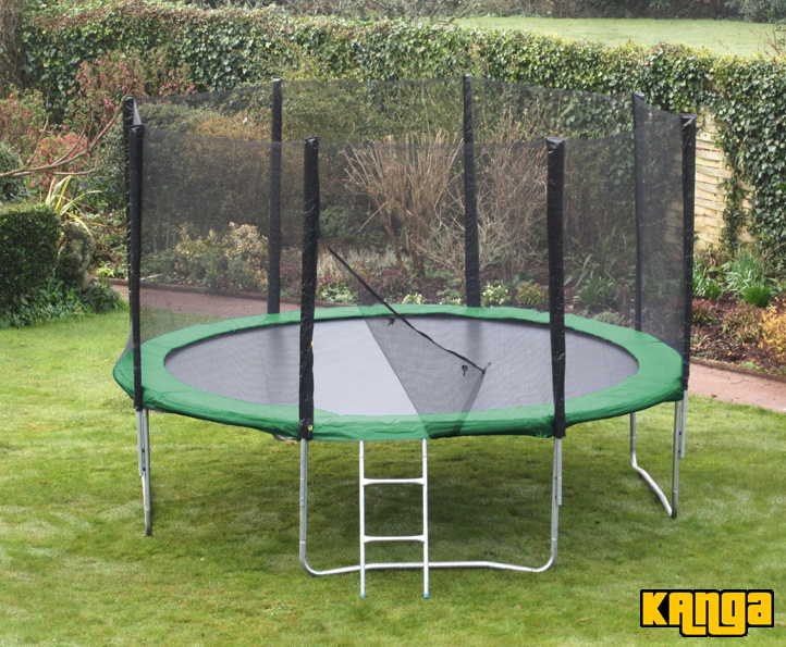Trampolines Kanga Hi-Power Green 16ft trampoline package