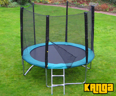 Kanga Green 6ft trampoline package