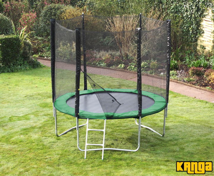 Kanga Green 6ft trampoline package