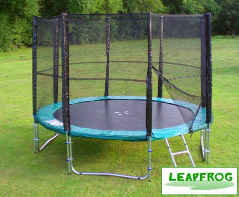 Leapfrog Super 10ft trampoline package