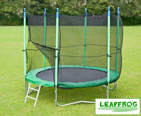 Leapfrog Super 12ft trampoline package