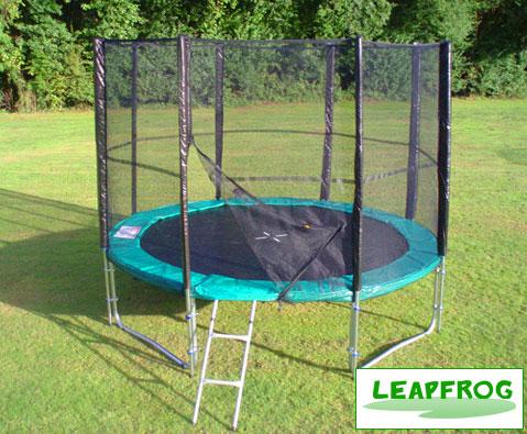 Leapfrog Super Green 6ft trampoline package