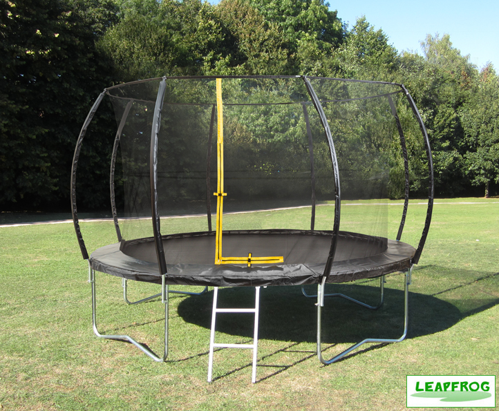 Leapfrog 12ft Black Trampoline Package