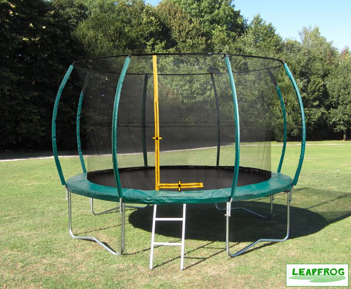 Leapfrog 12ft Green Trampoline Package