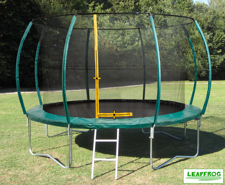 Leapfrog 14ft Green Trampoline Package