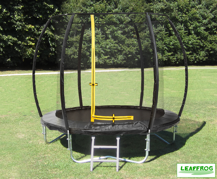 Leapfrog 8ft Black Trampoline Package