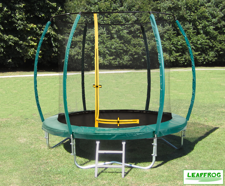 Trampolines Leapfrog 8ft Green Trampoline Package