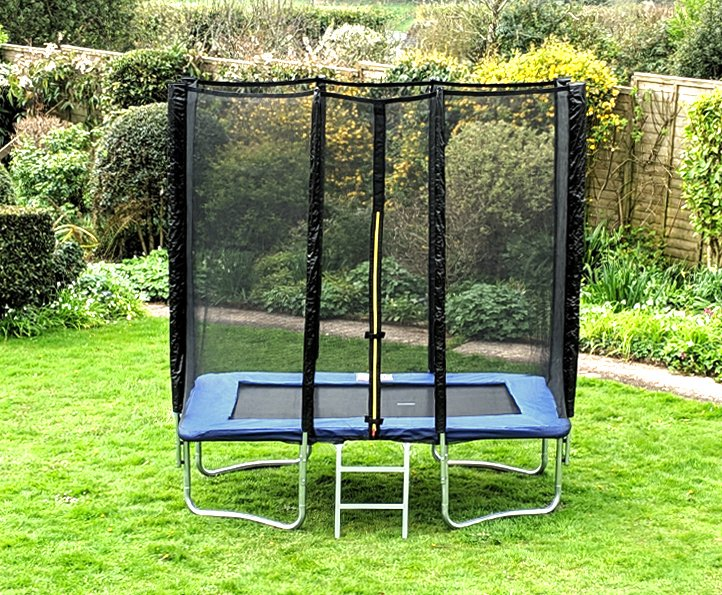 Kanga Blue 5x7ft trampoline package
