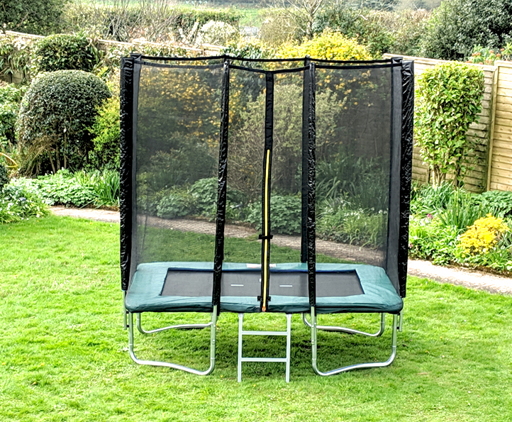 Kanga Green 5x7ft trampoline package