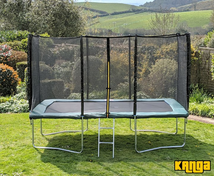 Kanga Green 8x12ft trampoline package