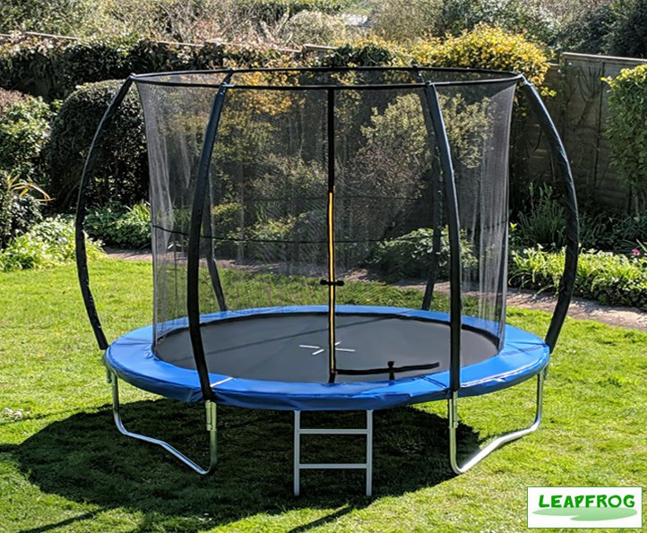 Leapfrog 10ft Blue Trampoline Package