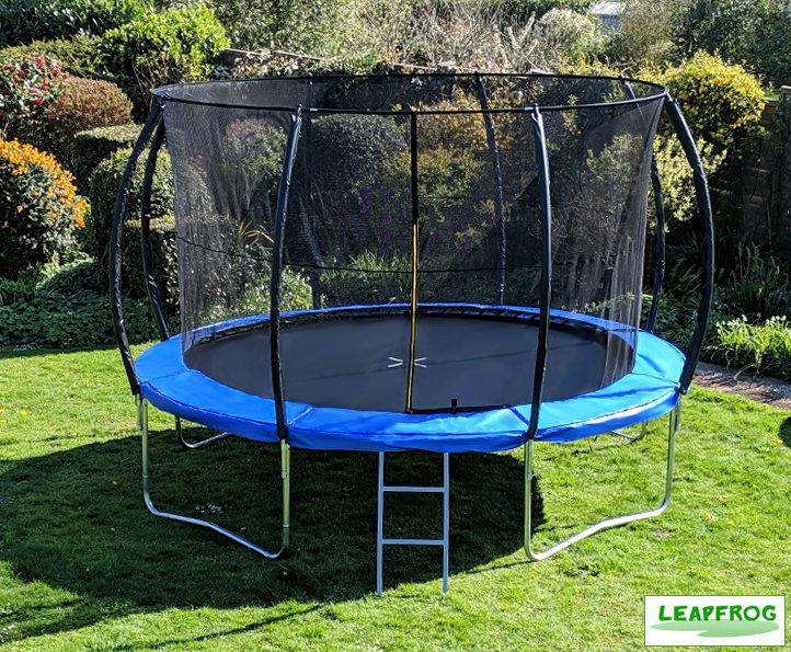 Leapfrog 12ft Blue Trampoline Package