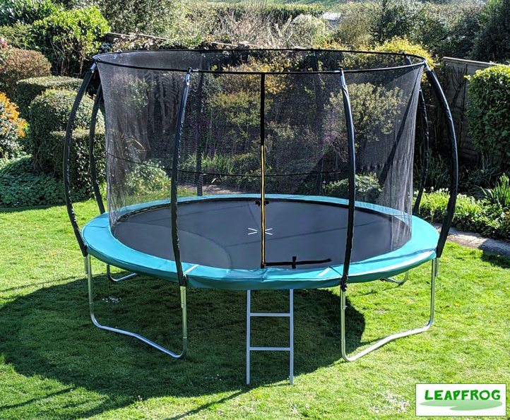 Leapfrog 12ft Green Trampoline Package