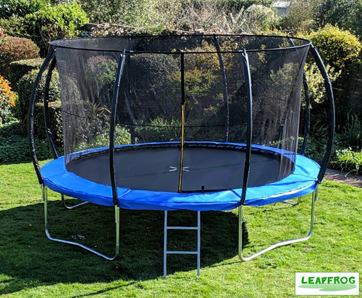 Leapfrog 14ft Blue Trampoline Package