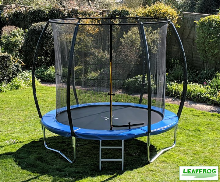 Leapfrog 8ft Blue Trampoline Package