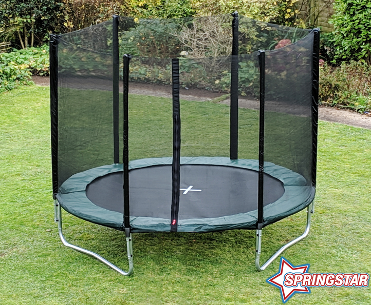 Spring Star Green 10ft trampoline package