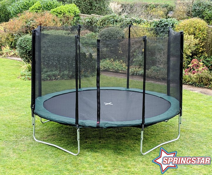 Spring Star Green 12ft trampoline package