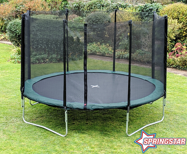 Spring Star Green 14ft trampoline package