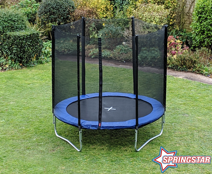 Spring Star Blue 6ft trampoline package