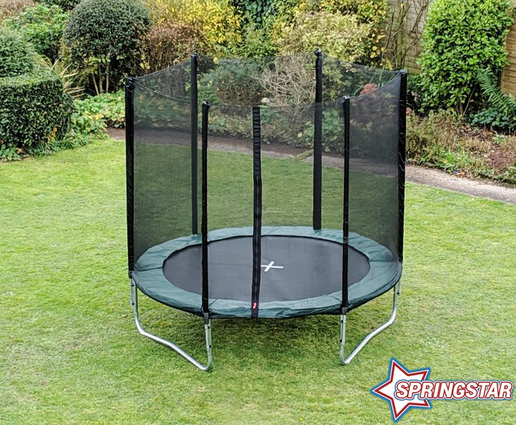 Spring Star Green 6ft trampoline package
