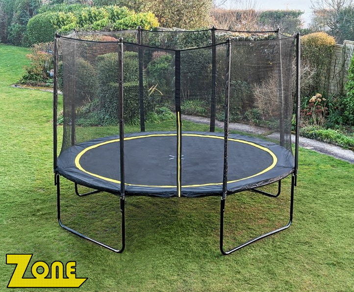 Zone 12ft trampoline package