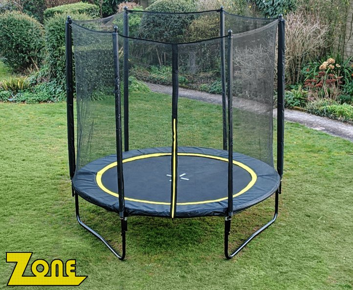 Zone 8ft trampoline package